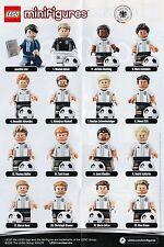 LEGO ® statuine #71014 DFB la squadra-tutti i 16 personaggi completamente NUOVO/TOP