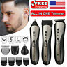 2020 Men Pro Hair Clippers Beard Shaver Razor Electric Cordless Hair Trimmer Set