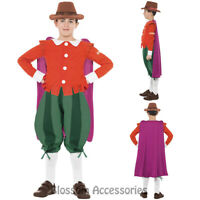 CK747 Horrible Histories Guy Fawkes Child Boys Book Week Fancy Dress Costume