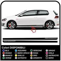 VW GOLF V-VII GTI Performance Strisce Laterali Set Adesivi 3 & 5 porte per golf