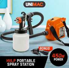 450W Paint Sprayer Gun 3-Way Fluid Nozzle DIY Spray Station 240/50Hz Power