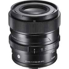 Sigma 65mm F2 DGDN and Mount