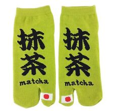 MATCHA Tabi Socks Ninja Japanese Flip Flop Sandal 2-Toe Socks UNISEX Men Women