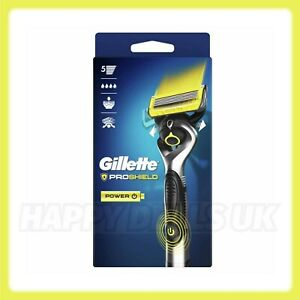 Gillette ProShield Power Men's Battery Power Razor with Precision Trimmer