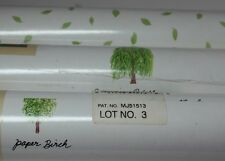 MODERN TREE LEAF/LEAVES WALLQUEST WALLPAPER 3 DBL ROLLS/BOLTS DISCONTINUED HTF