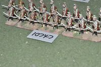 25mm roman era / roman - archers 17 figs - inf (10747)