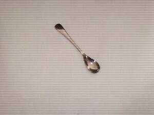 Vintage Stainless Nickel Mustard Spoon