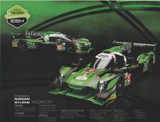 2018 Extreme Speed Motorsports Nissan DPi Petit Le Mans IMSA WTSC postcard