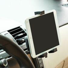 Car Mount Air Vent Tablet Holder Rotating Cradle Swivel Dock Black for Tablets