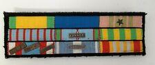 Placard de 9 décorations Croix Guerre 1939-45, Coloniale Ext-Orient