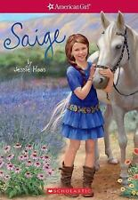 Saige (American Girl: Girl of the Year 2013, Book 1) by Jessie Haas (2017,...