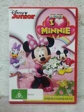Mickey Mouse Clubhouse: I Heart Minnie  - DVD - DISNEY JUNIOR Pluto Donald Duck