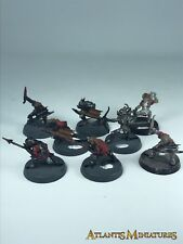 Goblin Warriors X8 - LOTR / Warhammer / Lord of the Rings C34