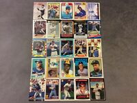 HALL OF FAME Baseball Card Lot 1973-2020 STAN MUSIAL JOE DIMAGGIO CAL RIPKEN JR.