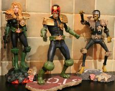 Judge Dredd - Judge Death - Judge Anderson Statues Rebellion/Harrop