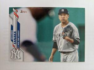 2020 Topps Baseball Series 1 #279 Masahiro Tanaka New York Yankees