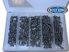 Phillips Countersunk Self Tapper 8g 304 Stainless 280pce Self Tapping Screw Kit