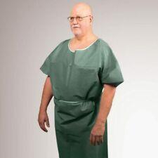 """*50-Pieces* Graham Medical """"28 x 42"""" Exam Gown Non-Woven Medium Green 65957"""