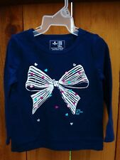 NEW Baby Gap Tee Girls 12-18 M T-shirt Clothes Love Heart Bow Valentine Easter