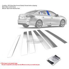 Stainless Steel Chrome Window Pillar Molding 6P For RENAULT 2010 - 2016 Fluence