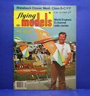 FLYING MODELS Vol. 80 #10 (#484) October 1977 Carstens Pub. Uncertified Magazine