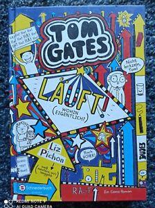 TOM GATES --- Läuft (Wohin eigentlich?) Teil 9 von Liz Pichon --- Wie neu !!!