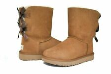 UGG 1016225 Women Bailey Bow II Chestnut Winter Boot US Size 7