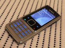 Nokia 6300 Original - Silver black (Unlocked) Cellular Phone Free shipping