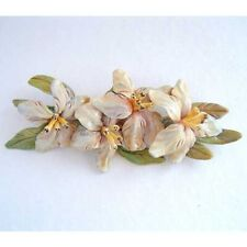 UNIQUE FLORAL BROOCH BOUQUET WEDDING CORSAGE HAND CRAFTED PIN 15