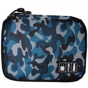 Cable Organizer Digital USB Earphone Gadget Storage Case Bag Pouch Travel Kit