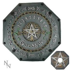 Tree of Life Spirit Talking Quija Board 34cm Wiccan Occult Witch Pentagram Sign