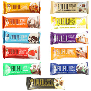 Fulfil Vitamin & Protein Bar - 55g (All Flavours ) £2.00 Per Bar *SPECIAL OFFER*