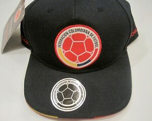 Colombia Soccer Cap Federacion Colombiann De Futbol FCF Officially Licensed NWT