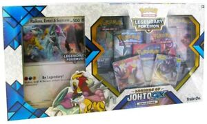 Pokemon TCG: Legends of Johto GX Collection Box - Rare Brand New And Sealed