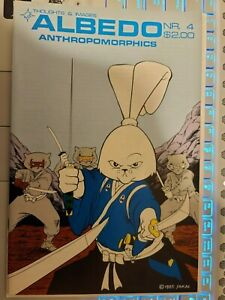 Albedo #4 3rd appearance of Usagi Yojimbo 2nd front cover appearance White Pages