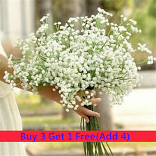 1 Head Romantic Baby's Breath Gypsophila Silk Flower Party Wedding Xmas Decor