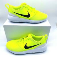 Nike Kids Roshe G Boys Golf Shoes 909250-700 Volt Green Spikeless Youth 5Y New