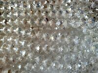 Joblot of 10 strings (720beads) 10mm white AB Color Crystal beads new Wholesale