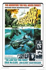 The Land That Time Forgot - Doug McClure - A4 Laminated Mini Movie Poster