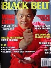 5/06 BLACK BELT MAGAZINE WILLIAM CHEUNG DONN DRAEGER KARATE KUNG FU MARTIAL ARTS