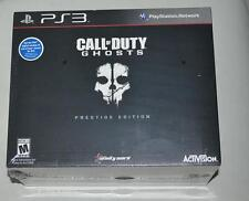 Call Of Duty: Cod Ghosts Prestige Edition PS3, BRAND NEW, SEALED