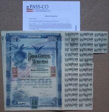 Mexico $2,500 Pesos Banco Central Mexicano 1903 Mexican Bond aka *Blueberry*