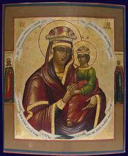 Alt-russische Ikone Gottesmutter Odigitria  Anfang 19Jh.Südrussland