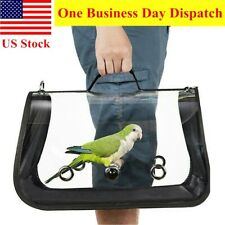 New listing Portable Bird Travel Carrier Outdoor Bird Transport Cage Breathable Backpack