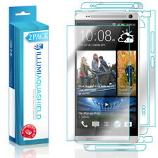 2x iLLumi AquaShield HD Front Screen + Back Panel Protector for HTC One Max