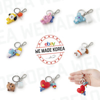 BT21 Figure Key Ring Mini Key Chain Bag Pendant Keyring Keychain Authentic Goods