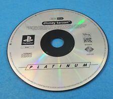 SONY PLAYSTATION 1 PS1 JUEGO PAL ESPAÑOL SOLO DISCO - DISNEY TARZAN PLATINUM