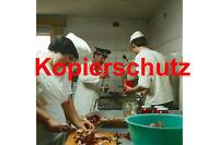 J34 Verpflegungs-Offizier der Grenztruppen in der Küche Foto 20x30 cm