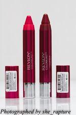 2x REVLON COLORBURST Lacquer Balm Lipstick Lipcolor SET WINE PINK shade 120+125