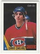1987-88 OPC HOCKEY #106 CHRIS CHELIOS - EXCELLENT